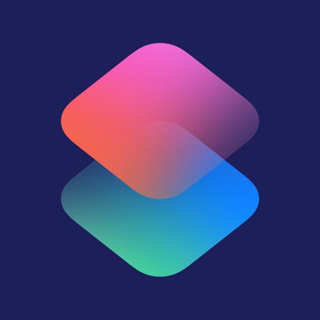Apple Shortcuts Logo